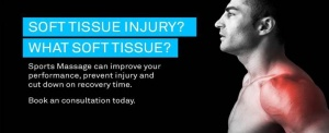 Sports Massage, Massage, Soft Tissue Damage, Aqua-Massage